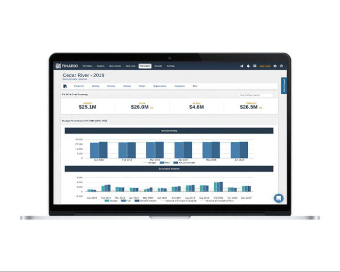 Finario Capex Software for Enterprise