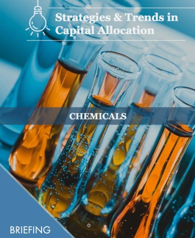 Capex News for Chemicals