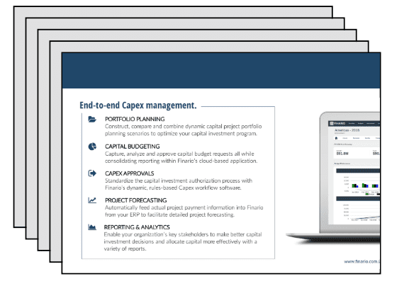 Capex solution brochure
